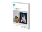 HP Advanced Glossy Photo Paper - photo paper - glossy - 100 sheet(s) - 100 x 150 mm - 250 g/m²