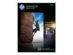 HP Advanced Glossy Photo Paper - photo paper - 25 sheet(s) - 130 x 180 mm