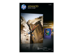 HP Advanced Photo Paper - photo paper - 20 sheet(s) - A3 - 250 g/m²