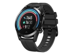Huawei Watch GT 2 Sport - black stainless steel - smart watch with strap - matte black