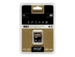 Intenso - flash memory card - 4 GB - SDHC