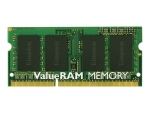 Kingston ValueRAM - DDR3 - module - 2 GB - SO-DIMM 204-pin - unbuffered