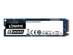 Kingston A2000 - solid state drive - 500 GB - PCI Express 3.0 x4 (NVMe)