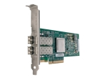 QLogic 8Gb FC Dual-port HBA for IBM System x - host bus adapter - PCIe x4 - 8Gb Fibre Channel x 2