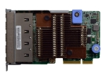 Lenovo ThinkSystem - network adapter - LAN-on-motherboard (LOM) - 10Gb Ethernet x 4
