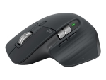 Logitech MX Master 3 - mouse - Bluetooth, 2.4 GHz - graphite
