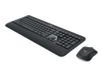 Logitech MK540 Advanced - keyboard and mouse set - Nordic