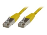 MicroConnect network cable - 1.5 m - yellow