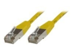 MicroConnect network cable - 50 cm - yellow