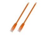 MicroConnect network cable - 50 cm - orange