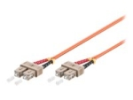 MicroConnect network cable - 100 m - orange