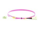 MicroConnect network cable - 2 m - erika violet