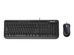 Microsoft Wired Desktop 600 - keyboard and mouse set - German