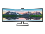 Philips P-line 439P9H - LED monitor - curved - 43.4""