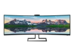"Philips Brilliance P-line 499P9H - LED monitor - curved - 49"" - HDR"