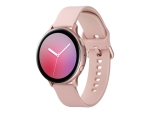 Samsung Galaxy Watch Active 2 - pink gold aluminium - smart watch with band - pink gold - 4 GB - not specified