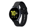 Samsung Galaxy Watch Active 2 - aqua black aluminium - smart watch with band - aqua black - 4 GB - not specified