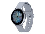 Samsung Galaxy Watch Active 2 - cloud silver aluminium - smart watch with band - cloud silver - 4 GB - not specified