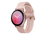 Samsung Galaxy Watch Active 2 - pink gold aluminium - smart watch with band - pink gold - 4 GB