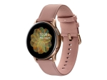 Samsung Galaxy Watch Active 2 - gold stainless steel - smart watch with band - pink - 4 GB - not specified