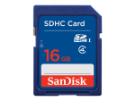 SanDisk Standard - flash memory card - 16 GB - SDHC