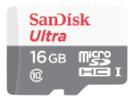 SanDisk Ultra - flash memory card - 16 GB - microSDHC UHS-I