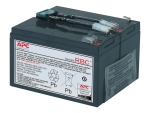 APC Replacement Battery Cartridge #9 - UPS battery - Lead Acid