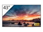 "Sony FWD-43X80H/T BRAVIA Professional Displays XH8 Series - 43"" Class (42.5"" viewable) LED display - 4K"