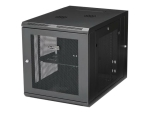 "StarTech.com 12U 19"" Wall Mount Network Cabinet - 24"" Deep Hinged Vented Server Room Enclosure Locking Flexible IT Equipment Rack w/Shelf rack enclosure cabinet - 12U"