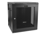 "StarTech.com 12U 19"" Wall Mount Network Cabinet - 16"" Deep Hinged Locking Flexible IT Data Equipment Rack Vented Switch Enclosure w/Shelf rack enclosure cabinet - 12U"