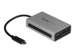 StarTech.com Thunderbolt 3 to eSATA Adapter with USB 3.1 (10Gbps) - USB C to USB Adapter - Thunderbolt 3 to USB 3.0 Hub (TB3ESATU31) - storage controller - USB 3.1 Gen 2 / eSATA 6Gb/s - Thunderbolt