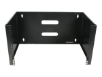 "StarTech.com ""6U Wall Mount Patch Panel Bracket - 14 inch Deep - 19"""" Patch Panel Rack for Shallow Network Equipment- 44lbs Capacity (WALLMOUNT6)"" cabinet - 6U"