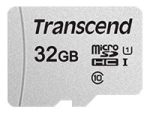 Transcend 300S - flash memory card - 32 GB - microSDHC