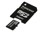 Transcend - flash memory card - 4 GB - microSDHC
