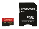 Transcend Ultimate - flash memory card - 8 GB - microSDHC UHS-I
