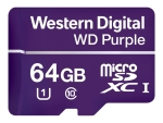 WD Purple WDD064G1P0A - flash memory card - 64 GB - microSDXC
