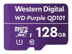 WD Purple SC QD101 WDD128G1P0C - flash memory card - 128 GB - microSDXC UHS-I