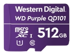 WD Purple SC QD101 WDD512G1P0C - flash memory card - 512 GB - microSDXC UHS-I