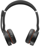 Jabra Evolve 75 MS Stereo Headset Head-band Black,Red
