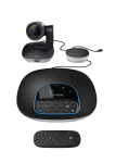 Logitech ConferenceCam solution for meetings with up to 14 participants, for mid to large-sized meeting rooms, Full HD, 1080p, 30fps