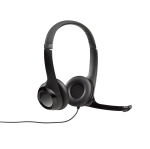 Logitech H390 headset, black, 20Hz-20kHz, 2.4m